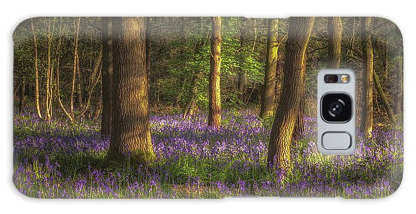Bluebell Galaxy Case - Spring In Haywood No 1 by Chris Fletcher