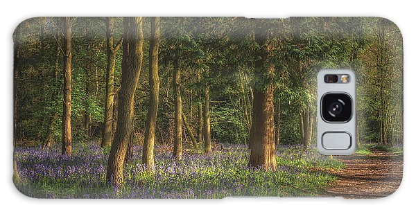 Bluebell Galaxy Case - Spring In Haywood No 2 by Chris Fletcher