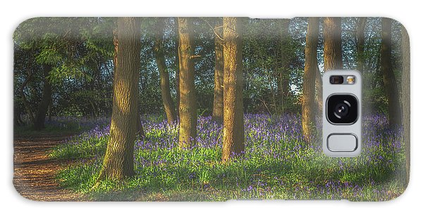 Bluebell Galaxy Case - Spring In Haywood No 3 by Chris Fletcher