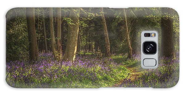 Bluebell Galaxy Case - Spring In Haywood No 4 by Chris Fletcher