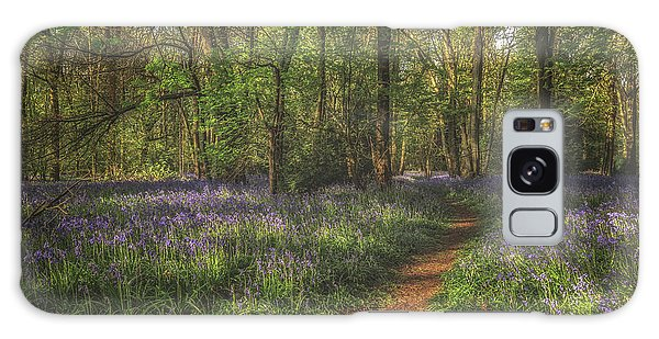 Bluebell Galaxy Case - Spring In Haywood No 5 by Chris Fletcher