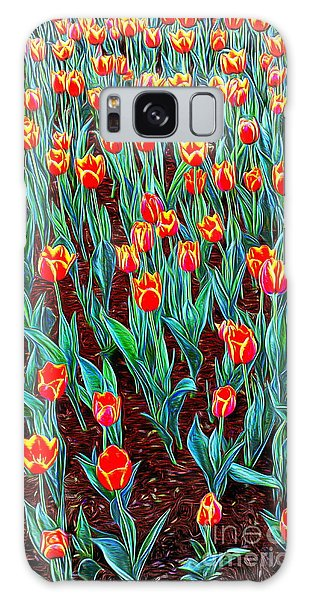 Spring In Holland Galaxy Case