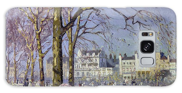 Spring In Hyde Park Galaxy Case by Alice Taite Fanner