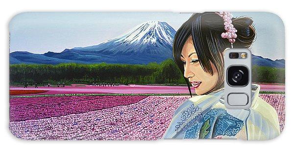 Scenery Galaxy Case - Spring In Japan by Paul Meijering