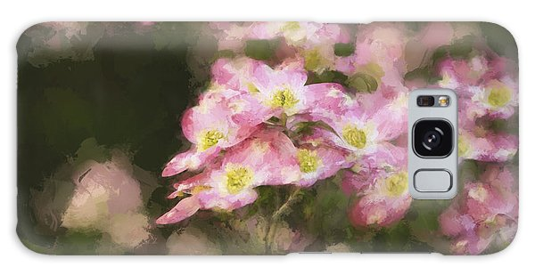 Spring In Pink Galaxy Case by Linda Blair