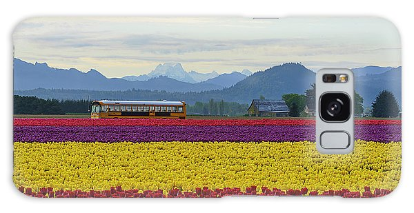 Spring In Skagit Valley Galaxy Case