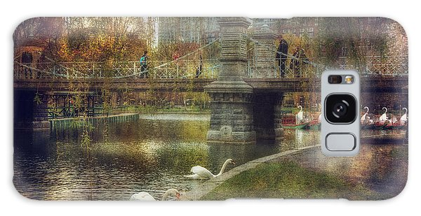 Spring In The Boston Public Garden Galaxy Case