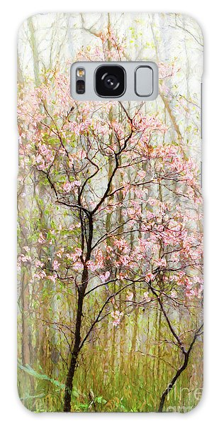 Spring In The Forest Galaxy Case