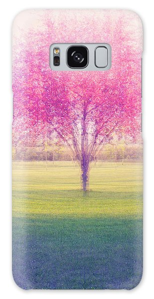 Spring Is A Blur Galaxy Case