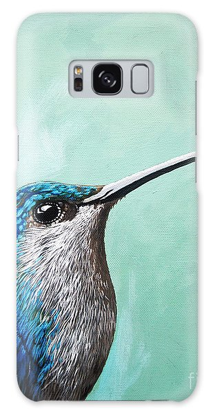 Spring Is Humming - Hummingbird Painting Galaxy Case