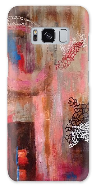 Squiggles And Wiggles # 4 Galaxy Case by Suzzanna Frank