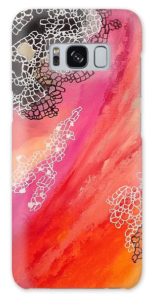 Squiggles And Wiggles #2 Galaxy Case by Suzzanna Frank