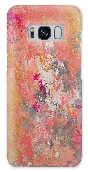 Welcome Spring Galaxy Case by Suzzanna Frank
