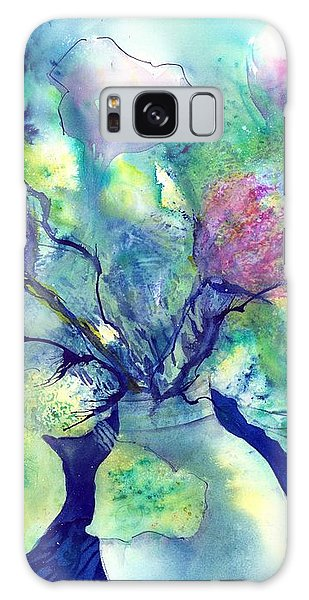 Spring Is In The Air - Flower Bouquet Galaxy Case
