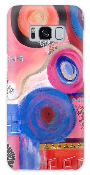 Squiggles And Wiggles  #9 Galaxy Case by Suzzanna Frank