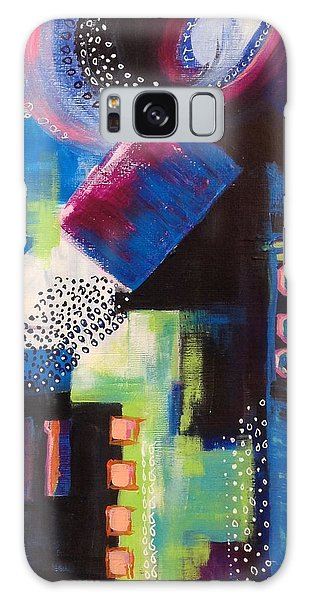 Squiggles And Wiggles #6 Galaxy Case by Suzzanna Frank
