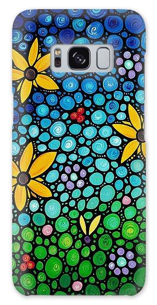 Floral Garden Galaxy Case - Spring Maidens by Sharon Cummings