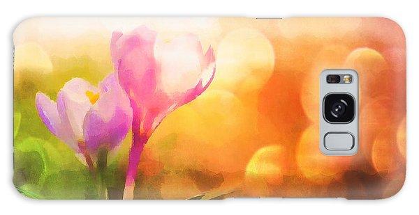 Galaxy Case featuring the digital art Spring Mood by Jennifer Hotai