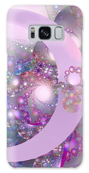 Spring Moon Bubble Fractal Galaxy Case by Judi Suni Hall