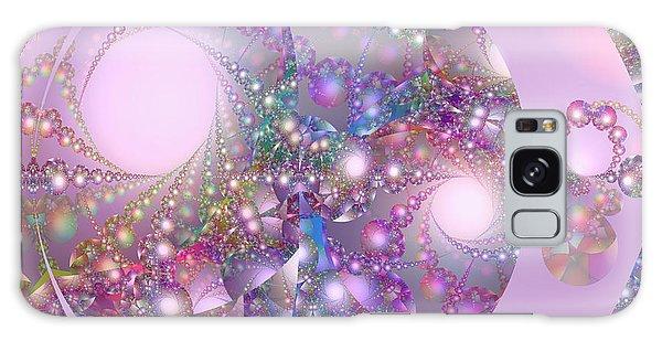 Spring Moon Bubble Fractal Galaxy Case