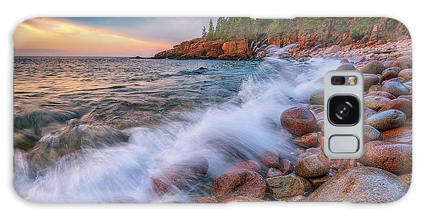 Otter Rock Galaxy Case - Spring Morning In Acadia National Park by Rick Berk