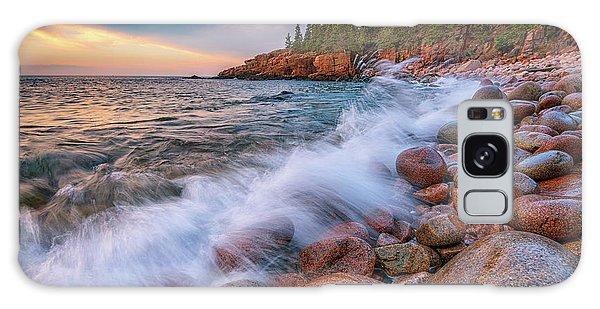 Spring Morning In Acadia National Park Galaxy Case by Rick Berk