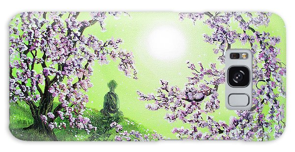 Spring Morning Meditation Galaxy Case by Laura Iverson