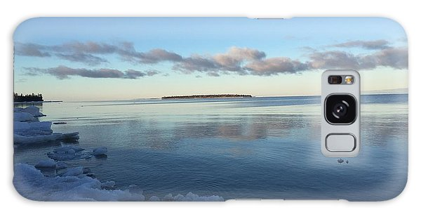 Spring Morning On Lake Superior Galaxy Case