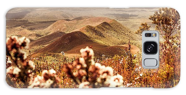 Natural Galaxy Case - Spring Mountain Blossoms by Jorgo Photography - Wall Art Gallery