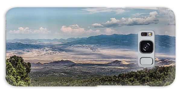 Galaxy Case featuring the photograph Spring Mountains Desert View by Michael Rogers