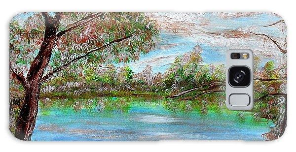 Spring On Arkansas' Greer's Ferry Lake Galaxy Case
