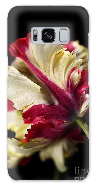 Spring Parrot Tulip Galaxy Case