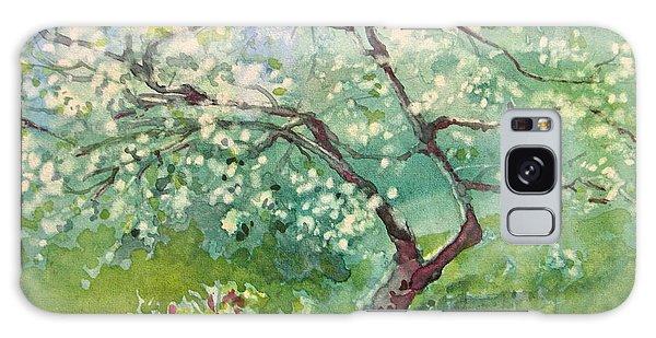 Spring Plum Galaxy Case by Elizabeth Carr