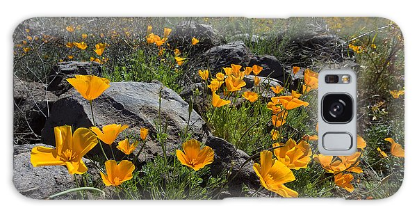 Spring Poppies Galaxy Case