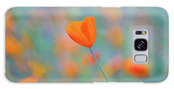 Spring Poppy Galaxy Case