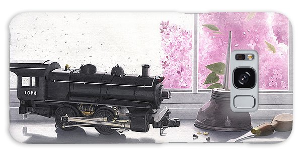 Spring Rain  Electric Train Galaxy Case
