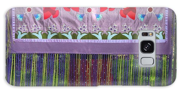 Galaxy Case featuring the tapestry - textile Spring Rising by Chholing Taha