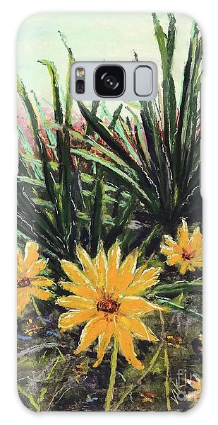 Spring Rising Galaxy Case by Vickie Scarlett-Fisher