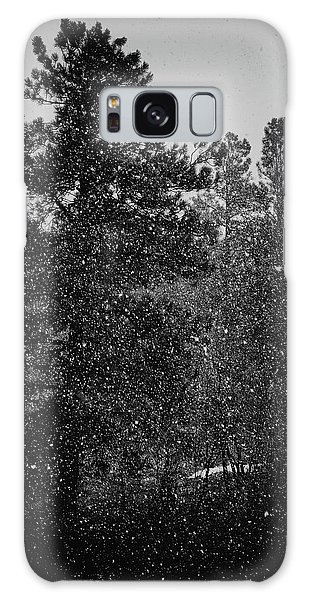Spring Snowstorm Galaxy Case