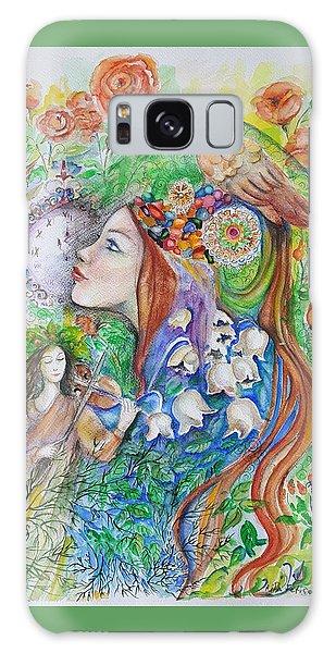 Spring Song Galaxy Case by Rita Fetisov