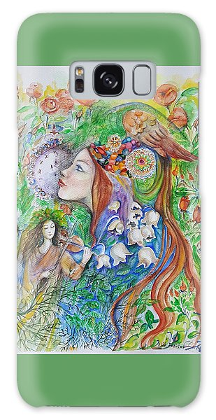 Spring Song Galaxy Case by Rita Fetisov