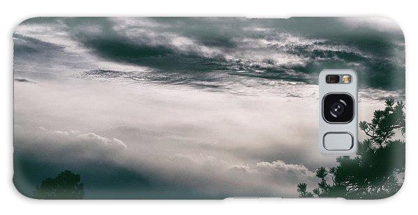 Spring Storm Cloudscape Galaxy Case