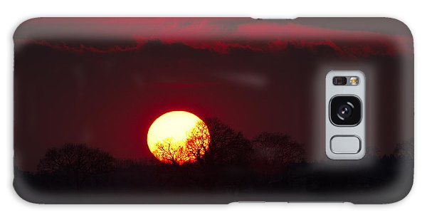 Spring Sunset Galaxy Case