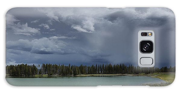 Spring Thunderstorm At Yellowstone Galaxy Case