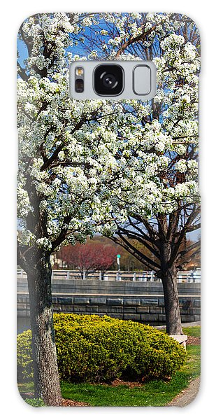 Spring Time In Westport Galaxy Case