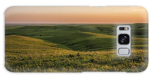 Spring Time On The Prairie Galaxy Case by Scott Bean