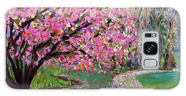 Spring Tree At New Pond Farm Galaxy Case