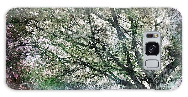 Spring Tree Galaxy Case by Gray  Artus