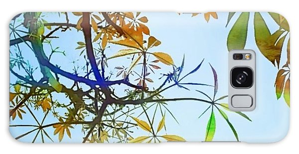 Design Galaxy Case - #spring #tree #leaves With #watercolor by Shari Warren