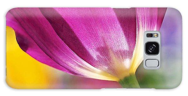 Spring Tulip Galaxy Case by Rona Black